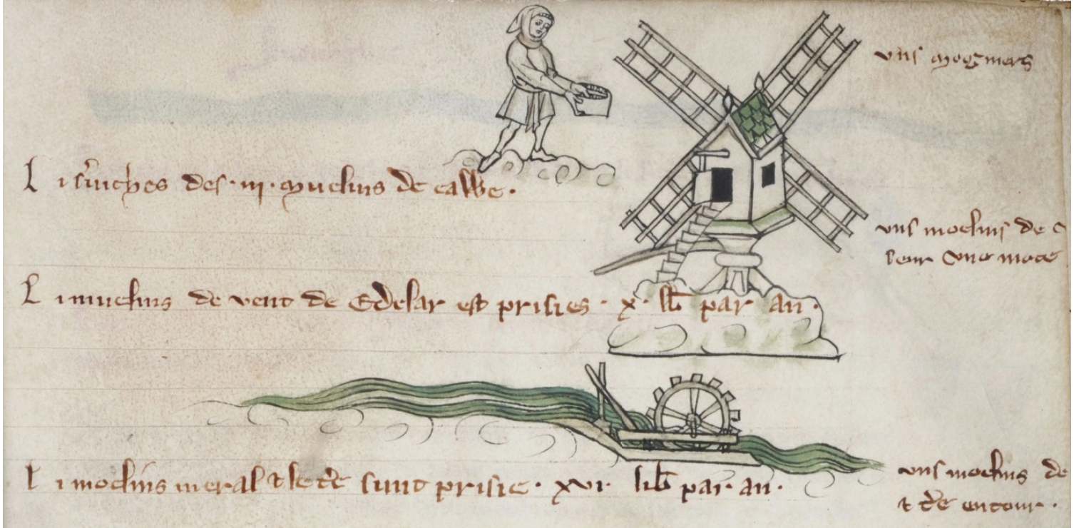 Depiction of a Windmill, Veil Rentier